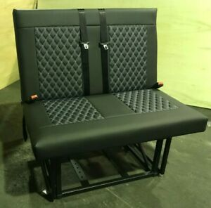 M1 Tested rock and roll bed with faux leather upholstery