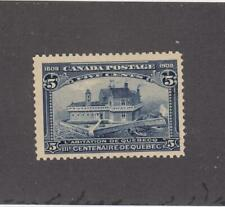 CANADA (MK802) # 99 VF-MLH  5cts  CHAMPLAIN'S HABITATION /BLUE CAT VALUE $150
