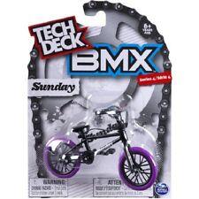 TECH DECK BMX SUNDAY SERIES 4 BNIP BLACK WITH PURPLE TYRES