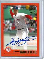 Tim Wakefield 2017 Topps Archives Red Autograph #10/25