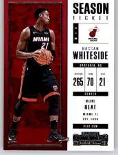 2017-18 Contenders Hassan Whiteside NBA PWE Base Card Heat #63