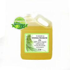 Pure Evening Primrose Oil Cold Pressed Organic Uncut Raw Virgin 1 Gallon /7 Lb