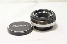 Canon FLP 38mm F2.8 MF Pancake As-Is [12024]