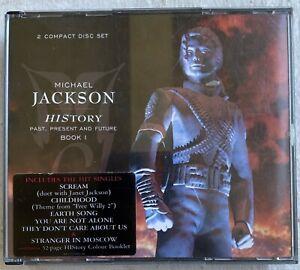Michael Jackson History: Past, Present and Future, Book I (CD, 2010) 2 Disc Set
