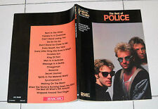 Spartiti The Best of POLICE - GUITAR TAB VOCAL OTTIMO Songbook Sting 1988