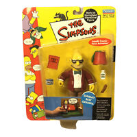 The Simpsons World Of Springfield Sunday Best Grampa Action Figure *NEW*