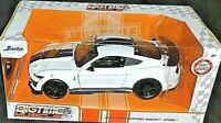 JADA 2020 1/24 DIE CAST BIGTIME MUSCLE 2020 WHITE FORD MUSTANG SHELBY GT500 HTF!