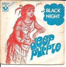 "45 TOURS / 7"" SINGLE--DEEP PURPLE--BLACK NIGHT/ SPEED KING"