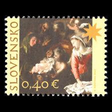"""Slovakia 2012 - Christmas Paintings """"The Birth of Christ"""" Art - Sc 648 MNH"""