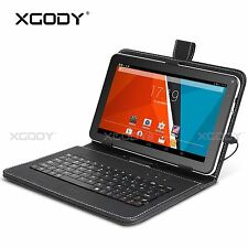 9 POLLICI Tablet PC 32GB Quad Core A33 Android 4.4 Dual Kamera Wlan WIFI Pad 9''