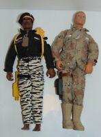 GI Joe Lot of 2 Army Ranger Stalker and Duke