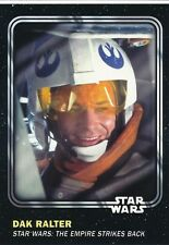 #20 DAK RALTER 2016 Topps Star Wars Trader Physical card