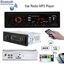 12V Bluetooth Car Stereo Audio Player In-Dash Aux Receiver SD/USB/MP3 FM Radio