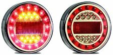 *TRAILER 2 X STOP/TAIL/INDICATOR/REFLECTOR  MAXI LAMPS MULTI VOLT LED AUTOLAMPS