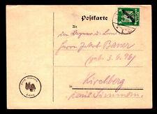 DR Postkarte Dienst COBLENZ - Kirchberg - 8.3.26 - Mi. D 106