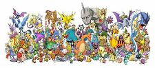 Pokemon - Beautiful - Huge Poster  34 x 15 inch  ( Fast Shipping )  in Tube