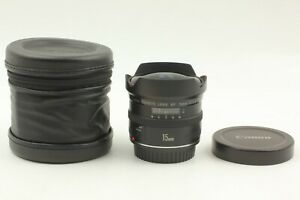 [Mint in Case] CANON FISH EYE EF 15mm F2.8 AF Wide Angle LENS From Japan #0000