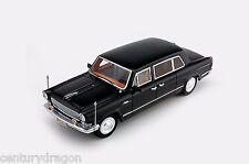 1:43 HongQi CA772 Bulletproof 1969 China National Limousine Century Dragon Black