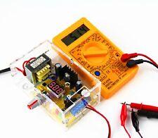 LM317 1.25V-12V Adjustable Regulated Voltage Power Supply US Plug DIY Kits NEW