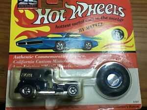 1992 Hot Wheels 25thAnniversary Commemorative Replica Redline Blue Paddy Wagon