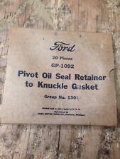 Jeep, MB GPW NOS FORD GPW Steering Knuckle seal Gaskets, G-503