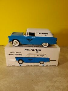 WIX FILTERS 1955 CHEVROLET SEDAN DELIVERY TRUCK LOCKABLE BANK NEW 💥 💥 💥 💥