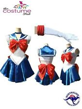 Size 6 - 16 SAILOR MOON Cosplay Costume Fancy Dress Up Party Fantasy Outfit