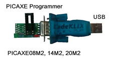 PICAXE USB Download / Programming Unit PICAXE08M2 14M2 20M2 - All M and M2 - NEW