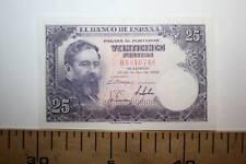 % A 25 PESETAS DE ISAAC ALBENIZ, CIRCULADO MBC++, 1954  VER FOTOS