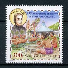 Wallis & Futuna 2017 MNH Martyr St Pierre Saint Peter Chanel 1v Set Stamps