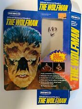 REMCO The Werewolf ACTION FIGURE BOX Only With Instructions 1980