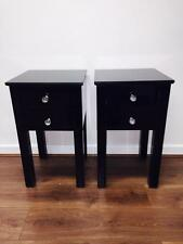 Unbranded Glass 61cm-65cm Height Bedside Tables & Cabinets