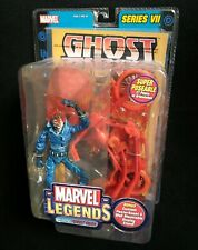 "Marvel Legends Series VII PHASING GHOST RIDER 6"" Action Figure w/ Motorcycle"
