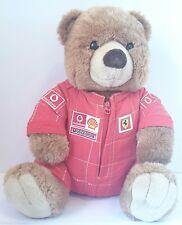 Peluche Plush Pupazzo Orso Bear Mascotte Ferrari 38Cm Formula Uno F1 Raro Retró