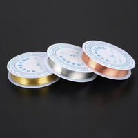 DIY 3Roll Beading Copper Wire Tarnish Resistant Bare Copper Wire for Jewelry LAZ