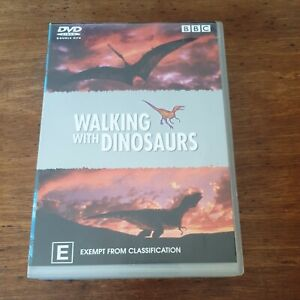 Walking with Dinosaurs BBC Double DVD R4 Like New! FREE POST