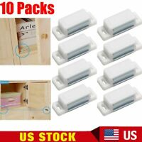10 Pack Magnetic Cabinet & Door Latch/Catch Closures Kitchen Cabinet Cupboard