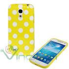 Custodia POIS per Samsung Galaxy S4 mini i9195 cover GIALLA case tpu flessibile