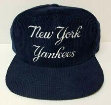New York Yankees Snapback Corduroy Vintage Twins Enterprise 80s - Early 90s NWT