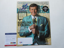 CRAIG SAGER SIGNED SPORTS ILLUSTRATED MAGAZINE PSA/DNA COA AB78757 STRONG TNT