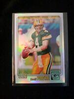 2001 Topps Chrome Refractors Brett Favre Packers 562/999