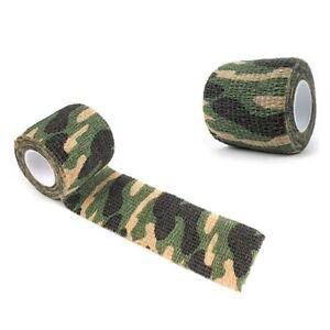 4.5m Hunt Disguise Elastoplast Camouflage Elastic Wrap Tape Hunting Outdoor Tool