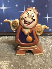 Vintage Disney Beauty & the Beast Cogsworth Porcelain Figurine Statue Sri Lanka
