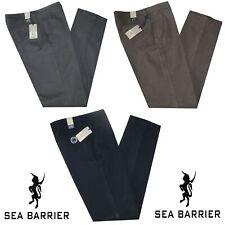 Pantalone classico uomo cotone caldo tela strech da 46 a 62 SEA BARRIER Windol