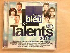 RARE COFFRET 2 CD / FRANCE BLEU TALENTS 2014 VOL 2 / NEUF SOUS CELLO