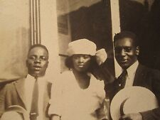 "ANTIQUE VINTAGE 1920s AFRICAN AMERICAN ""BUFFALO AMERICANS"" NY FASHION OLD  PHOTO"