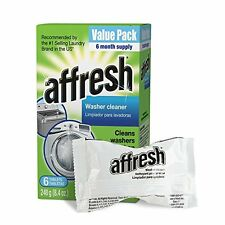 Affresh Washing Machine Cleaner HE Clean Washer Best Laundry 6-Tablets 8.4 Oz
