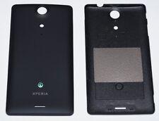 Original Sony Xperia TX LT29i Akkudeckel, Battery Cover, Schwarz, black