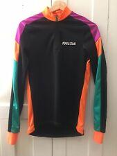 VTG NOS DEAD STOCK NEON PEARL IZUMI Long Sleeve Cycling Jersey Medium Lined