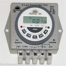 Flexcharge PRGTMR12V Real Time Programmable Digital Timer 12V